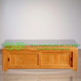 Indonesia Indoor Teak Furniture Slavik 160 TV Stand (IFET-021)