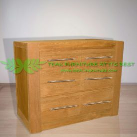 Indonesia Indoor Teak Furniture Teddy Chest of Drawers (IFCD-004)