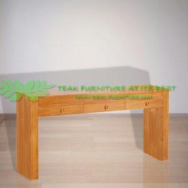 Indonesia Indoor Teak Furniture Tito Console Table 140
