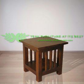 Indonesia Indoor Teak Furniture Uma Side Table (IFST-005)