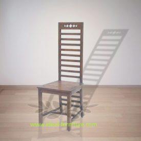 Indonesian Indoor Furniture Utami Teak Dining Chair (IFDC-018)