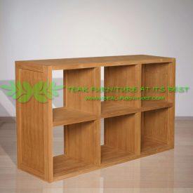 Indonesia Indoor Teak Furniture Alvaro Bookcase (IFBC-006)
