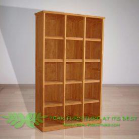 Indonesian Indoor Teak Furniture Marc Bookcase