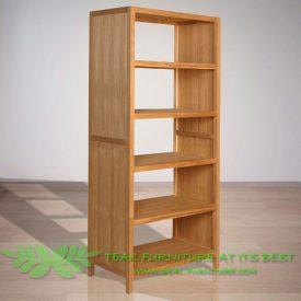 Indonesia Indoor Teak Furniture Martin Bookcase (IFBC-003)