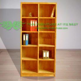 Indonesian Indoor Teak Furniture Pehr Bookcase (IFBC-008)