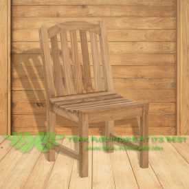 Indonesian Outdoor/Garden Teak Furniture Dahna Chair