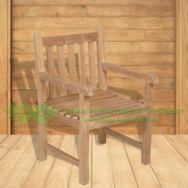 Indonesian Outdoor/Garden Teak Furniture Constantia Armchair (OFCC-010)