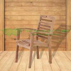 Indonesian Outdoor/Garden Teak Furniture Demetra Armchair (OFCC-008)