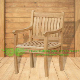 Indonesian Outdoor/Garden Teak Furniture Gema Armchair (OFCC-003)