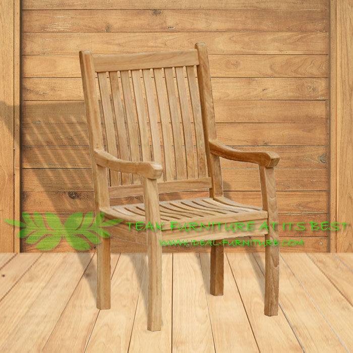 Indonesian Outdoor/Garden Teak Furniture Gema Armchair Gema Armchair Highback (OFCC-005)