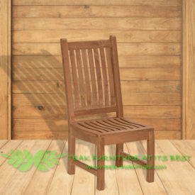 Indonesian Outdoor/Garden Teak Furniture Gema Armchair Gema Armchair Highback (OFFC-006)